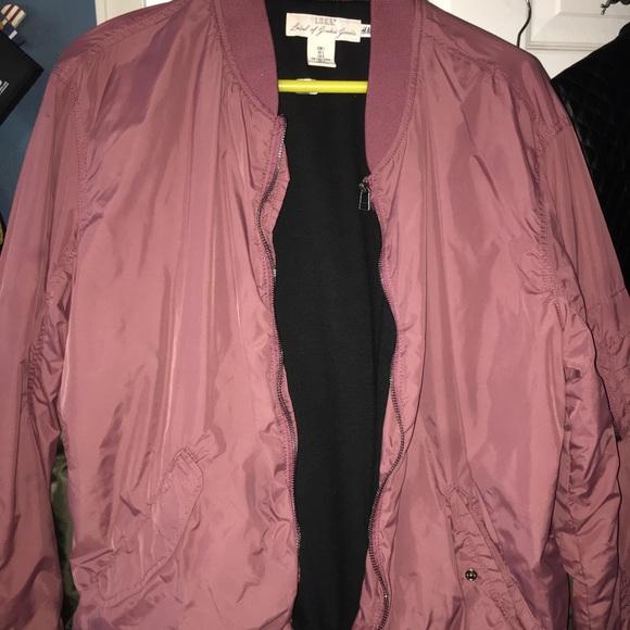 distinctive style great deals amazon H & M bomber jacket
